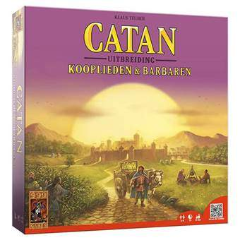 Catan Uitbreiding: Kooplieden & Barbaren Bordspellen Multicolor Karton