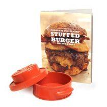 Charcoal Companion Kookboek met Hamburgerpers Barbecue accessoires Multicolor Kunststof