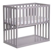 Childhome Co-sleeper Ledikant Baby & kinderkamer Grijs MDF