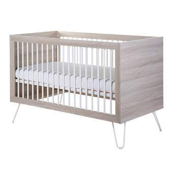 Childhome Ironwood Ashen Babybed 70 x 140 cm Baby & kinderkamer Bruin Hout