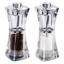 Cole & Mason Crystal Peper- en zoutmolenset Peper & zoutmolens Transparant Acryl