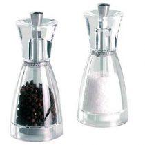 Cole & Mason Pina Peper- en zoutmolenset Peper & zoutmolens Transparant Acryl