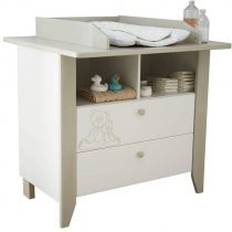 0.00 - Commode Ourson 102 cm hoog - wit - Kasten