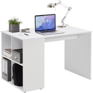 0.00 - Computer Bureau Gent 117 cm breed - Wit - Kantoortafels