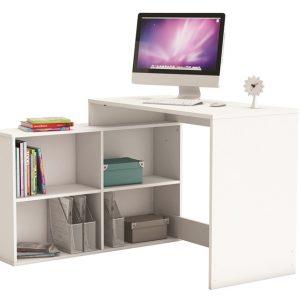0.00 - Computer Hoekbureau Corner - Wit - Kantoortafels