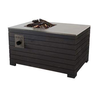 Cosi Fires Cosilines 99 Terrasverwarming Grijs Hout