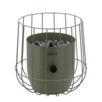 Cosi Fires Cosiscoop Basket Gaslantaarn Tuindecoratie Groen Metaal