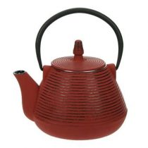 Cosy & Trendy Nagoya Theepot 1 L Thee & accessoires Rood Gietijzer