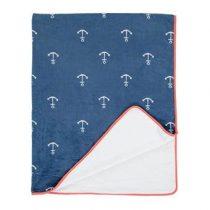 Covers & Co Anchor Deken 130 x 170 cm Baby & kinderkamer Blauw Polyester