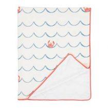 Covers & Co Krabi Deken 130 x 170 cm Baby & kinderkamer Wit Polyester