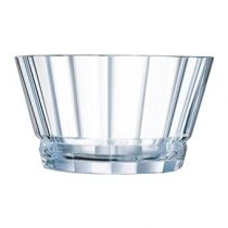 Cristal d'Arques Macassar Schalen Ø 12 cm - 6 st. Servies Transparant Kristal