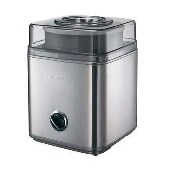 Cuisinart ICE30BCE IJsmachine Keukenapparatuur Zilver Kunststof
