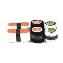 DOIY Salmon Lovers Maki Socks Set van 3 Gadgets Oranje