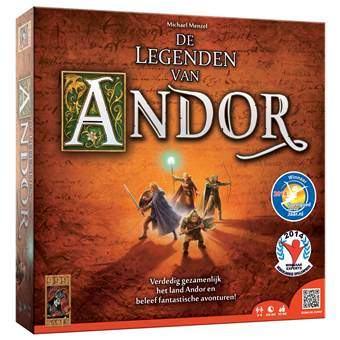 De Legenden van Andor Bordspellen Multicolor Karton