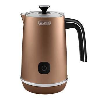 De'Longhi EMFI.CP Distinta Melkopschuimer Koffie Koper RVS