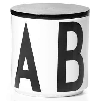 Design Letters Arne Jacobsen Multi Opbergpot Organizen & bewaren Wit Porselein