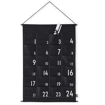 Design Letters Christmas Adventskalender Wanddecoratie & -planken Zwart Kunststof