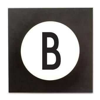 Design Letters Hook2 Wandhaak B Kapstokken Wit