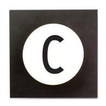 Design Letters Hook2 Wandhaak C Kapstokken Wit