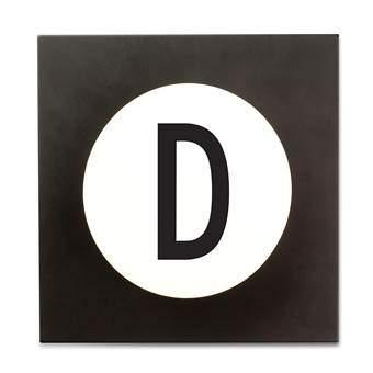 Design Letters Hook2 Wandhaak D Kapstokken Wit