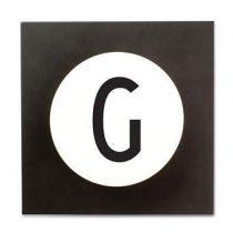 Design Letters Hook2 Wandhaak G Kapstokken Wit