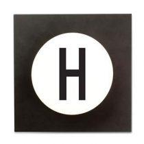 Design Letters Hook2 Wandhaak H Kapstokken Wit