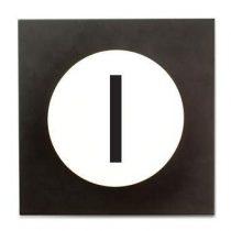 Design Letters Hook2 Wandhaak I Kapstokken Wit