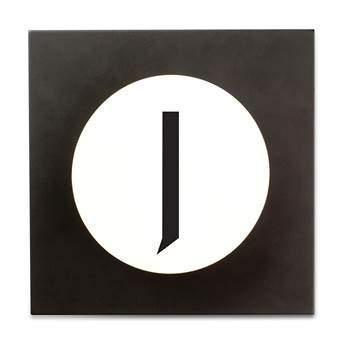 Design Letters Hook2 Wandhaak J Kapstokken Wit