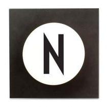 Design Letters Hook2 Wandhaak N Kapstokken Wit