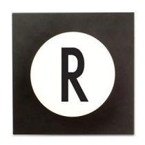 Design Letters Hook2 Wandhaak R Kapstokken Wit