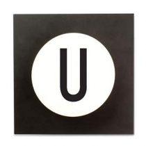 Design Letters Hook2 Wandhaak U Kapstokken Wit