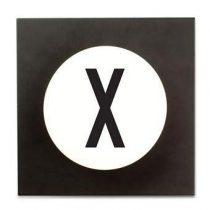 Design Letters Hook2 Wandhaak X Kapstokken Wit