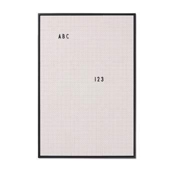 Design Letters Letterbord A2 Grijs Wanddecoratie & -planken Grijs Kunststof