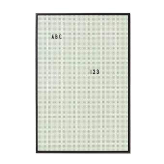 Design Letters Letterbord A2 Mintgroen Wanddecoratie & -planken Groen Kunststof
