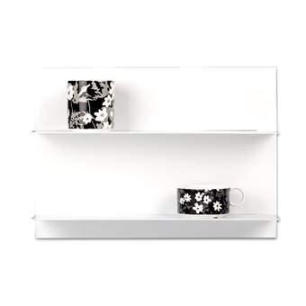 Design Letters Paper Wandplank A3 Wanddecoratie & -planken Wit MDF