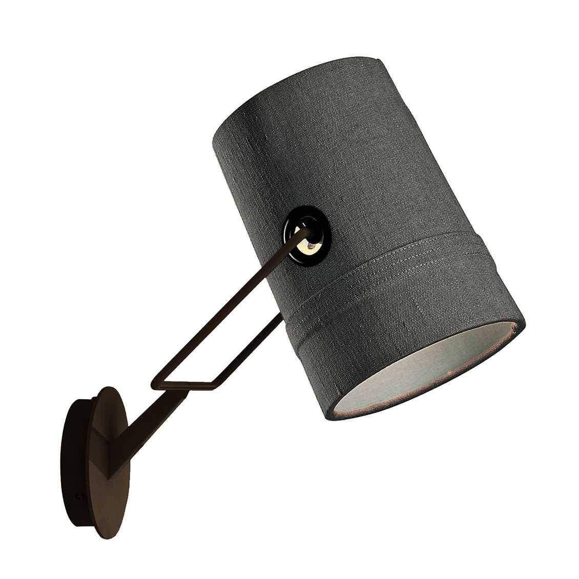 Diesel with Foscarini Fork wandlamp Grijs ZwartSlaapkamer
