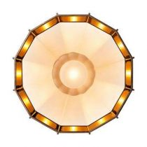 Diesel with Foscarini Mysterio Plafondlamp/Wandlamp Verlichting Wit Glas