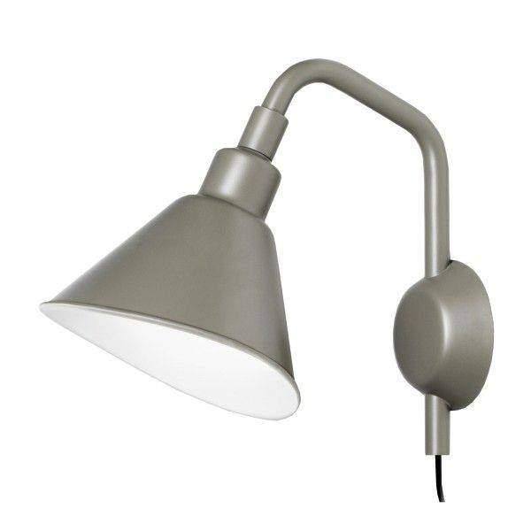 Diesel with Foscarini Smash met stekker wandlamp Grijs PiccolaSlaapkamer