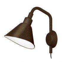 Diesel with Foscarini Smash met stekker wandlamp Zwart PiccolaSlaapkamer