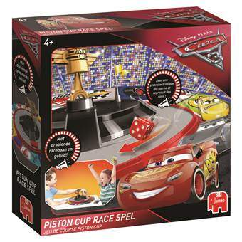Disney Cars 3 Piston Cup Race Bordspellen Multicolor Karton