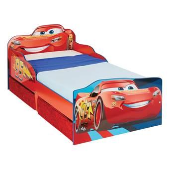 Disney Cars Kinderbed met Lades Baby & kinderkamer Rood MDF
