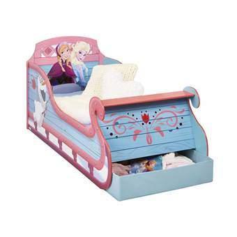 Disney Frozen Slee Kinderbed met lades Baby & kinderkamer Blauw
