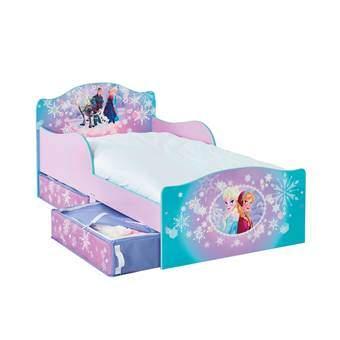 Disney Frozen StoryTime Kinderbed met lades Baby & kinderkamer Blauw