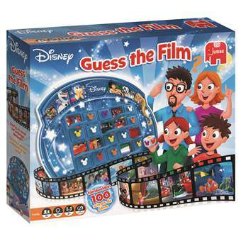 Disney Guess the Film Bordspellen Multicolor Karton
