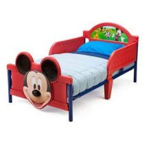 Disney Mickey Mouse 3D Kinderbed Baby & kinderkamer Multicolor Kunststof