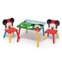 Disney Mickey Mouse Tafel met 2 Stoelen Baby & kinderkamer Multicolor MDF