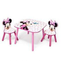 Disney Minnie Tafel met 2 Stoelen Baby & kinderkamer Multicolor MDF