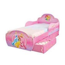 Disney Prinses Kinderbed met lades Baby & kinderkamer Roze Hout