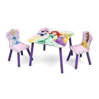 Baby Tafel Stoel.Disney Prinses Tafel Met 2 Stoelen