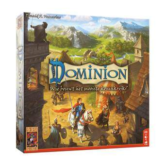 Dominion Basisspel Bordspellen Multicolor Karton